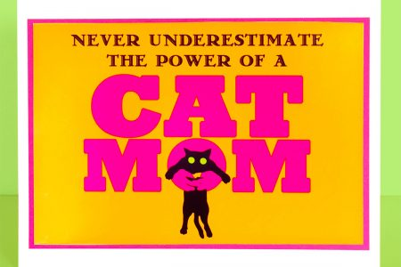 Power of Cat Mom Card